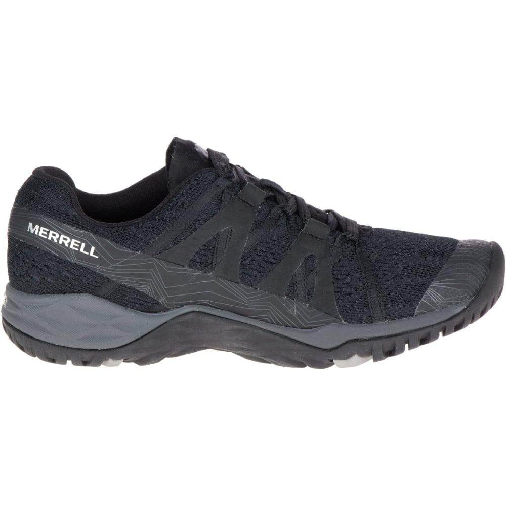 MERRELL Women's Siren Hex Q2 E-Mesh Hiking Shoe - SUPER BLACK- J18498