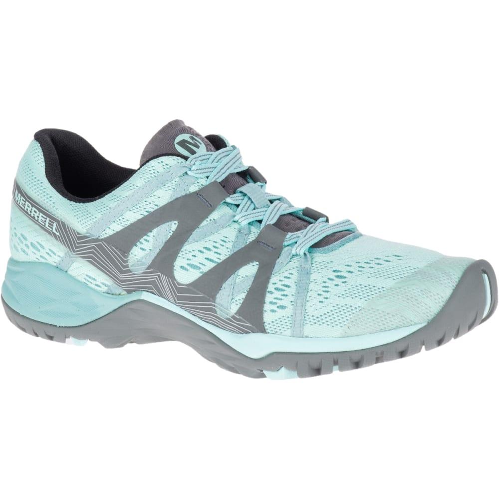 MERRELL Women's Siren Hex Q2 E-Mesh Hiking Shoe - BLEACHED AQUA J12396