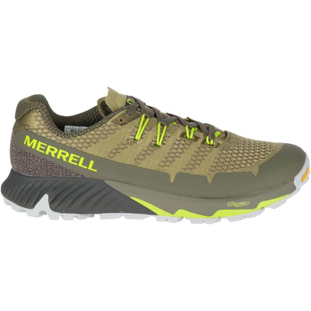 MERRELL Men's Agility Peak Flex 3 Trail Running Shoe - OLIVE -J48991