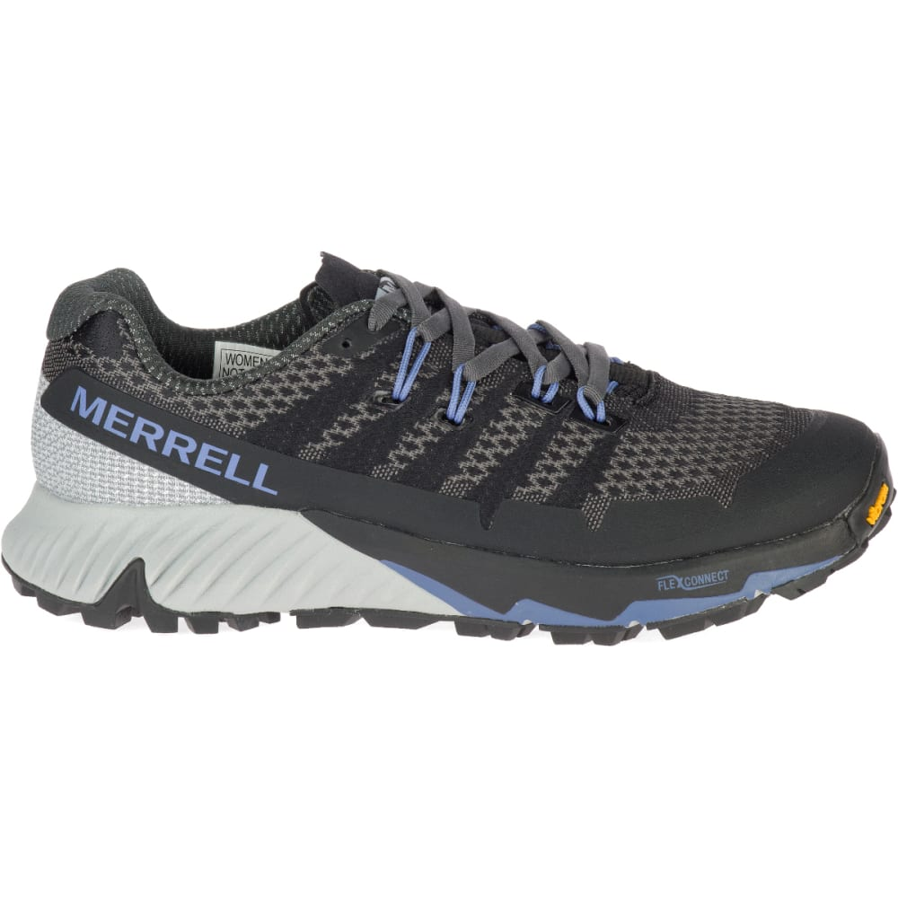 MERRELL Women's Agility Peak Flex 3 Trail Running Shoe - BLACK J52880