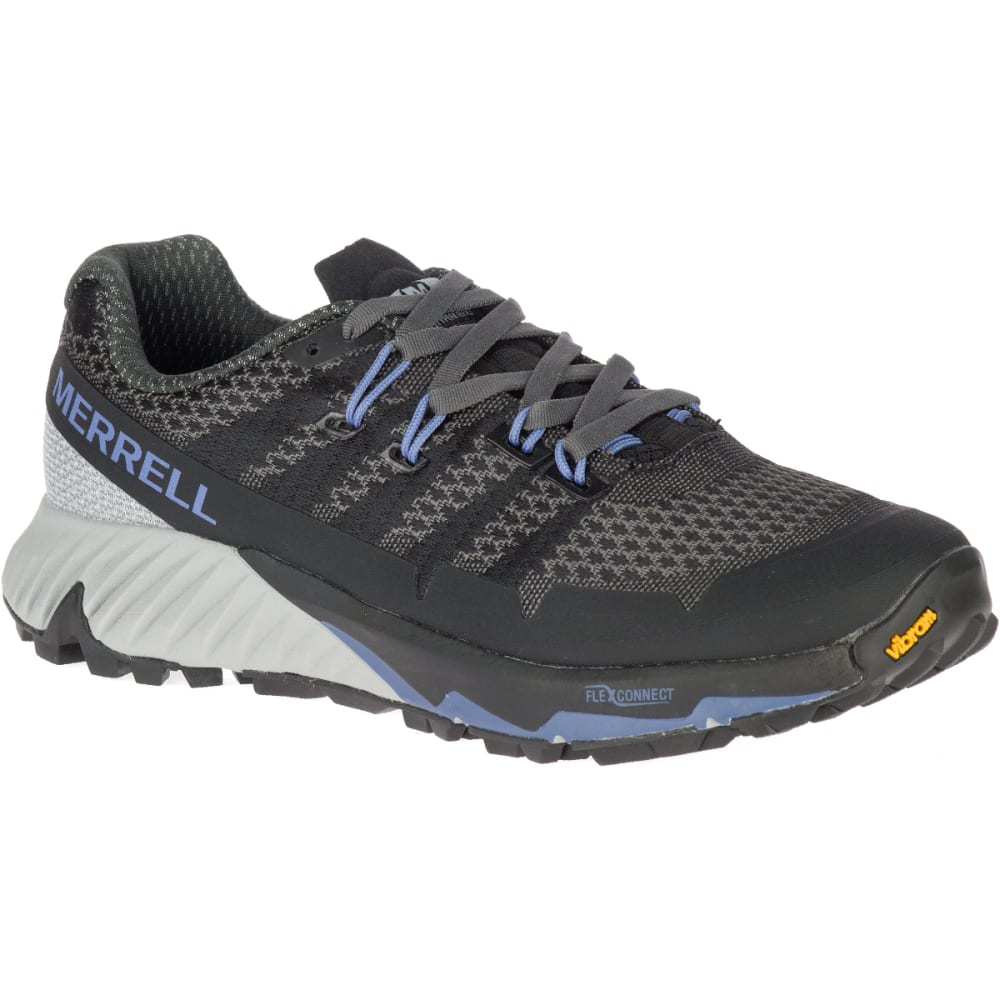 MERRELL Women's Agility Peak Flex 3 Trail Running Shoe - BLACK J52880