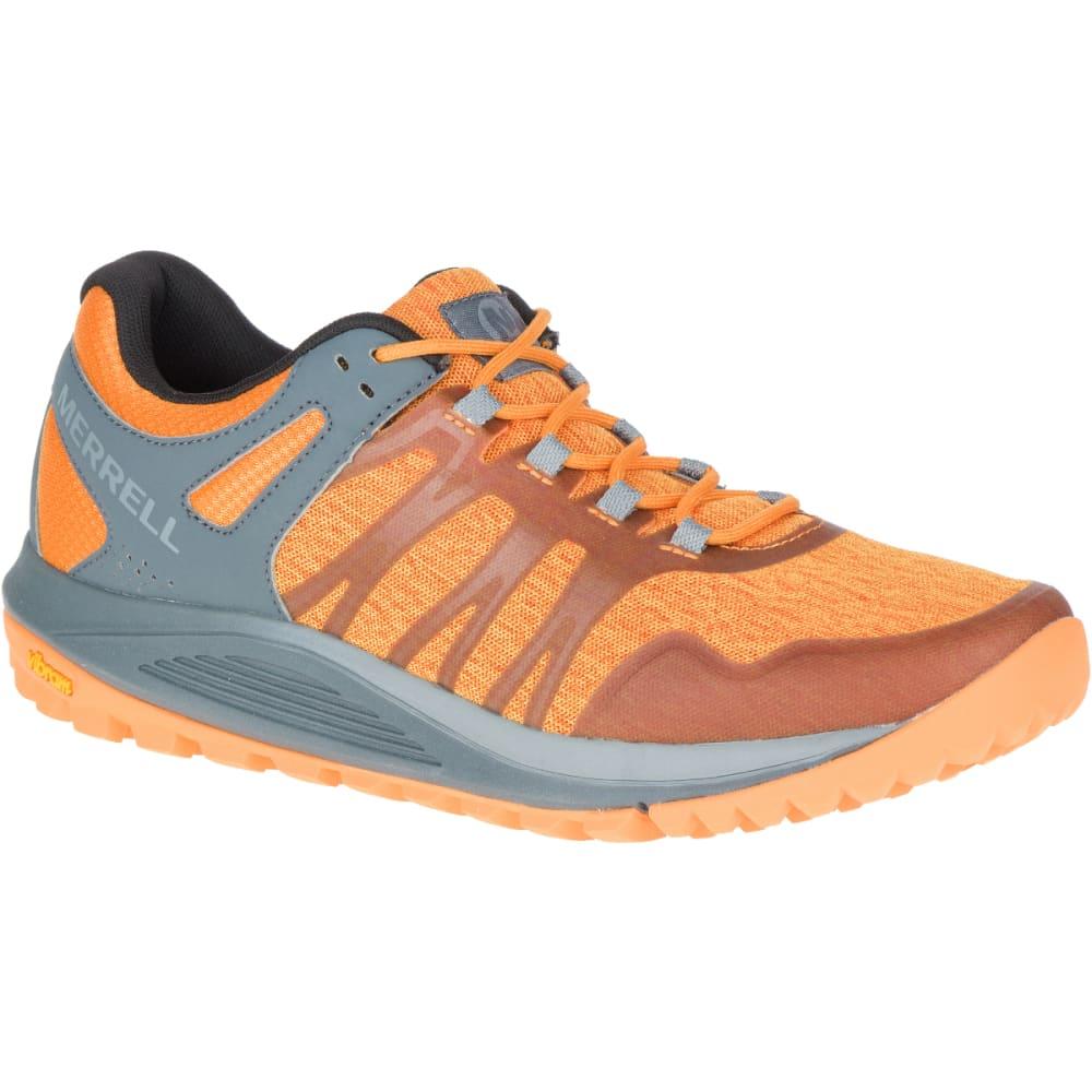 MERRELL Men's Nova Trail Running Shoe - FLAME ORANGE J84853