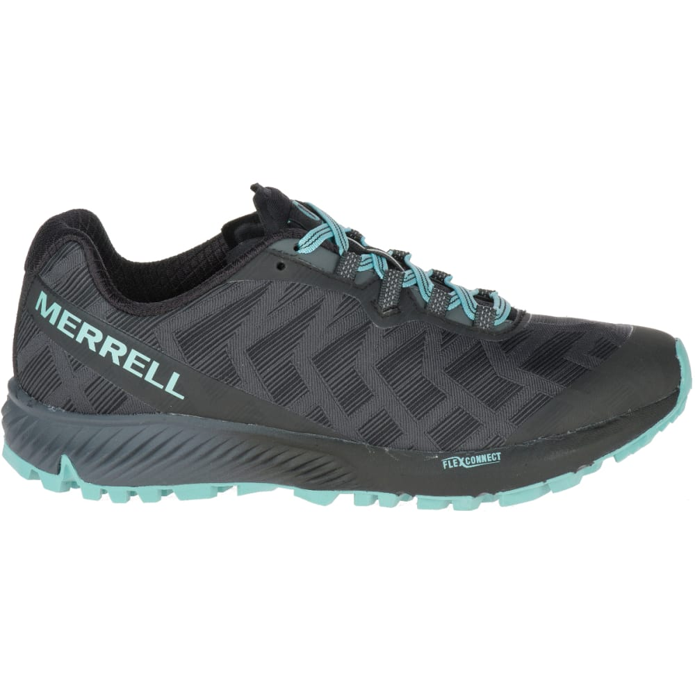 MERRELL Women's Agility Synthesis Flex Trail Running Shoes - BLACK J06108