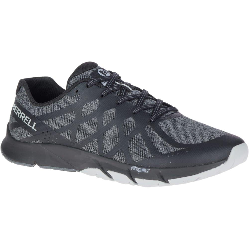 MERRELL Men's Bare Access Flex 2 Barefoot Shoes - BLACK- J48871