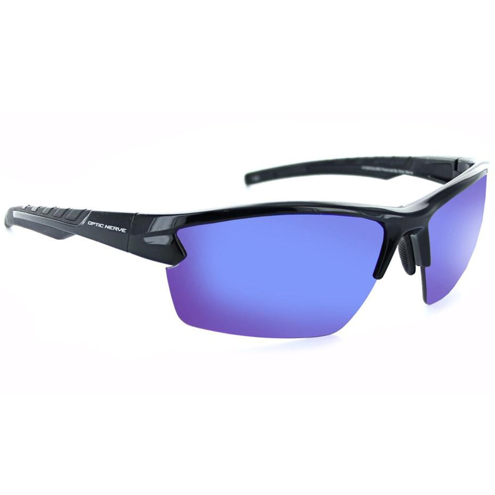 OPTIC NERVE Bristol Polarized Sunglasses - SHINY BLACK