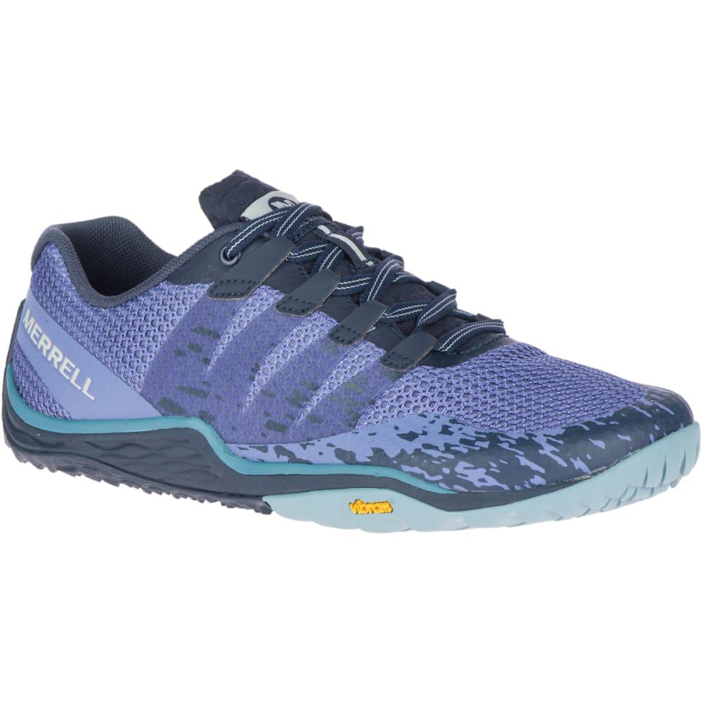 MERRELL Women's Trail Glove 5 Barefoot Shoes - VELVET MORN J84818