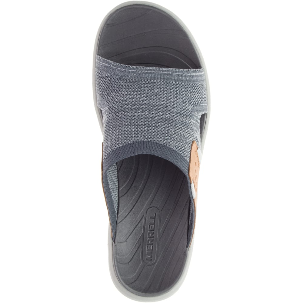 MERRELL Men's Gridway Slide Sandals - TURBULENCE J97431