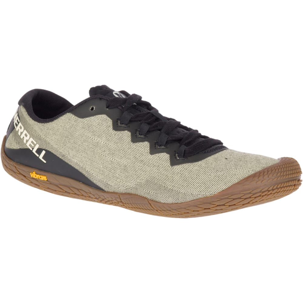 8620b7cd12c MERRELL Men's Vapor Glove 3 Cotton Barefoot Shoes - SEEDPEARL J50509