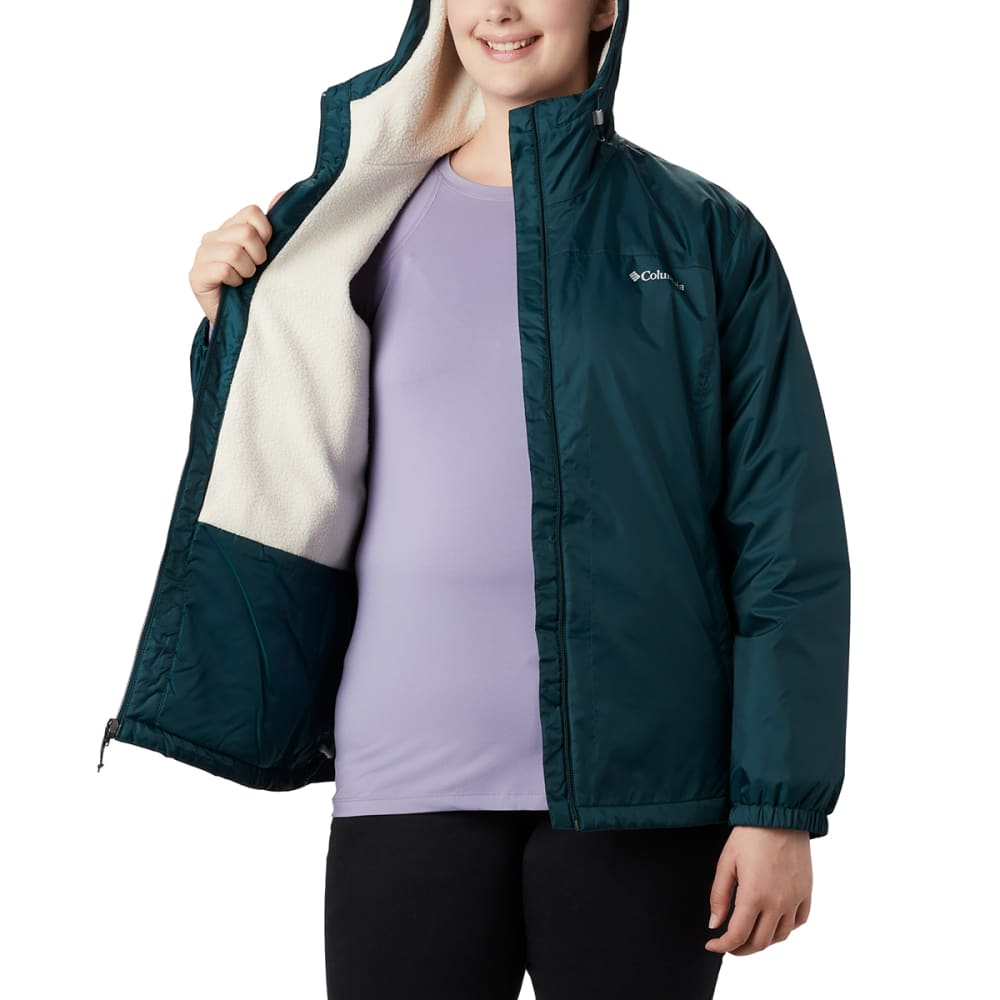 COLUMBIA Women's Switchback Sherpa Lined Jacket - 375 DARK SEAS