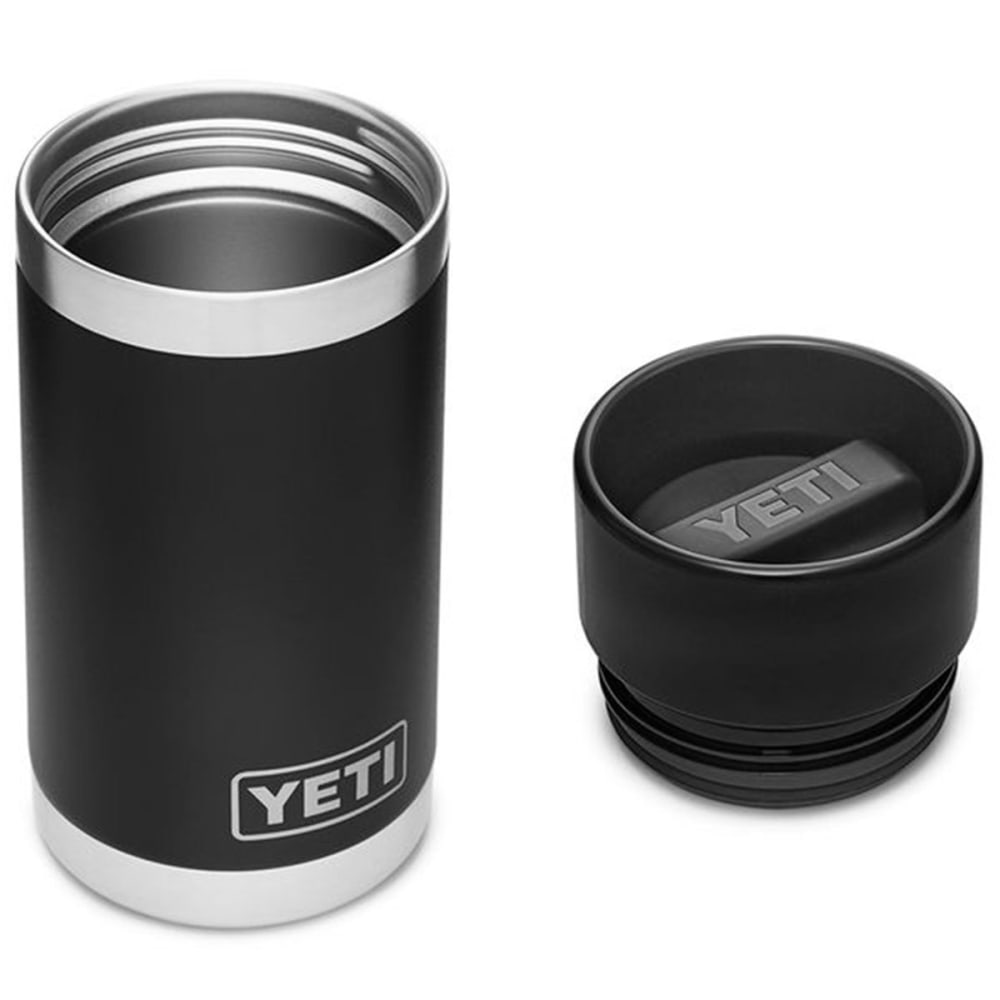 YETI Rambler 12 oz. Bottle with Hotshot Cap - BLACK