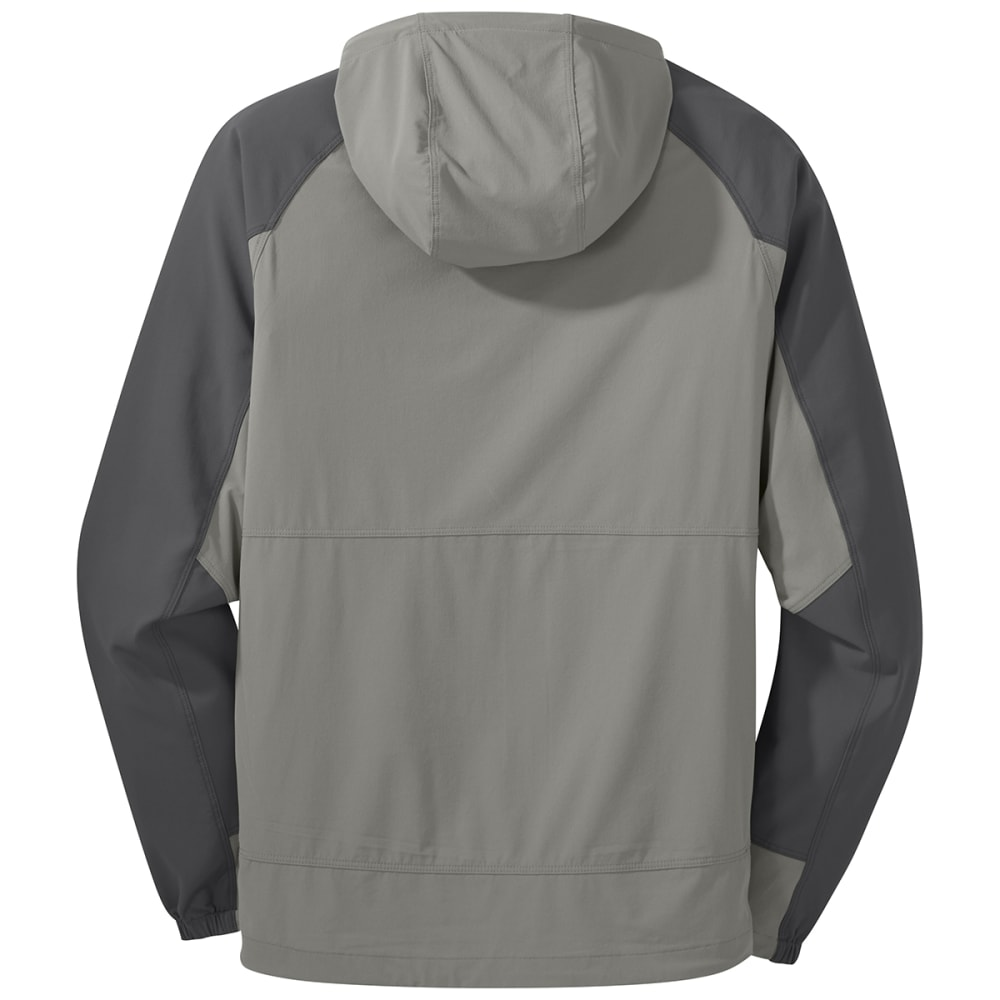 OUTDOOR RESEARCH Men's Ferrosi Hooded Jacket - 1352 PEWTER/STORM