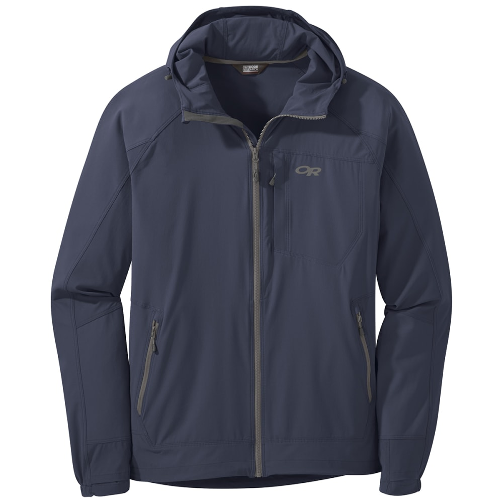 OUTDOOR RESEARCH Men's Ferrosi Hooded Jacket - 1289 NAVAL BLUE