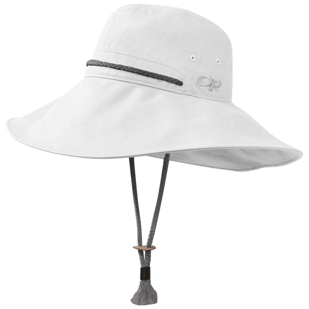 OUTDOOR RESEARCH Women's Bugout Mojave Sun Hat - 0002 WHITE