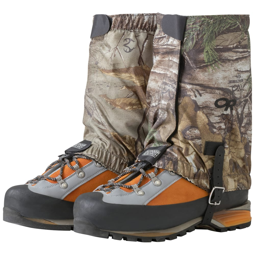 OUTDOOR RESEARCH Men's Rocky Mountain Realtree Gaiters S/M