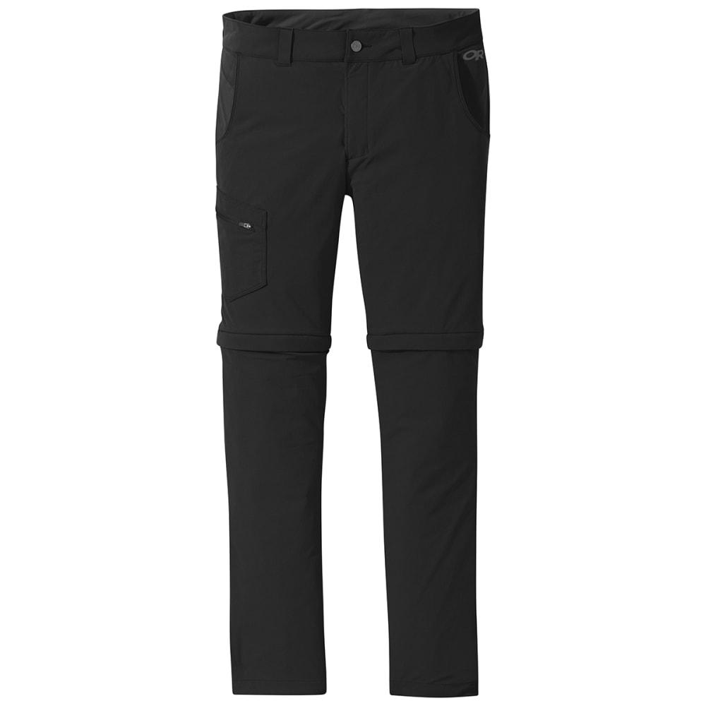 OUTDOOR RESEARCH Men's Ferrosi Convertible Pant - 0001 BLACK