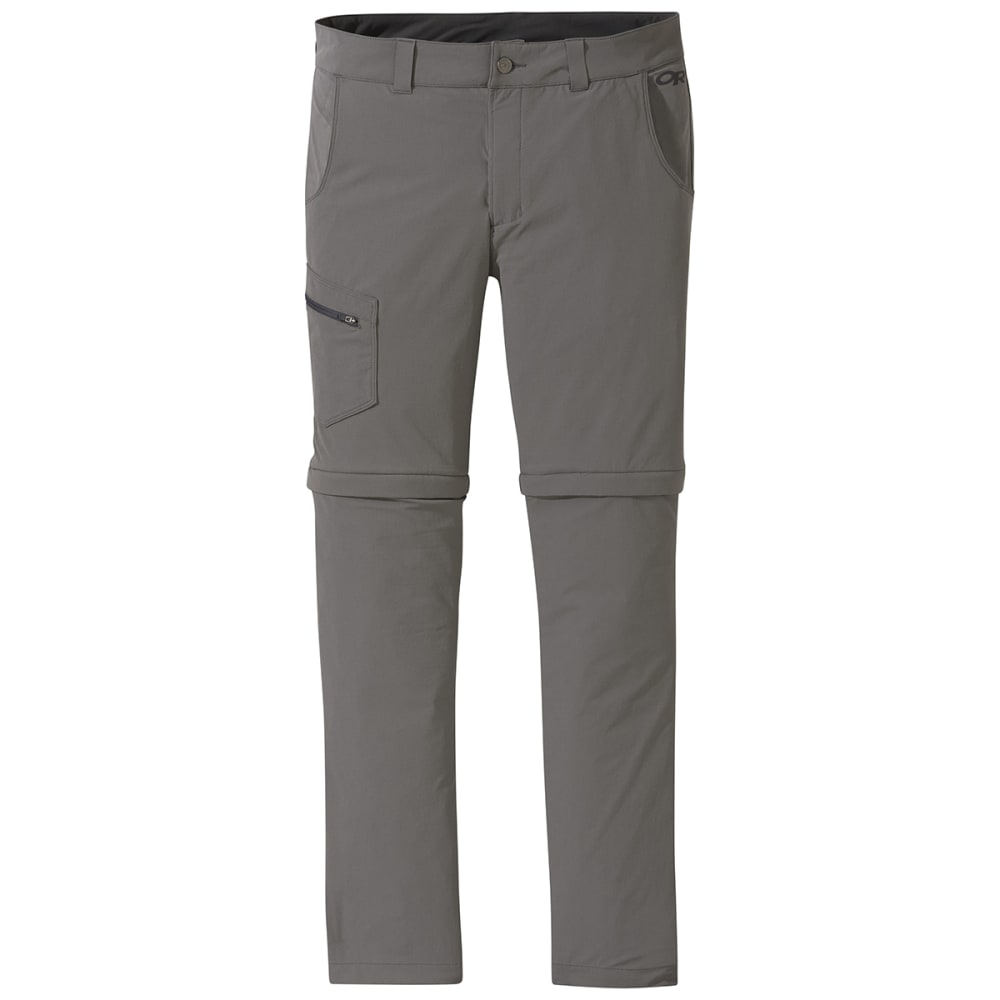 OUTDOOR RESEARCH Men's Ferrosi Convertible Pant - 0008 PEWTER