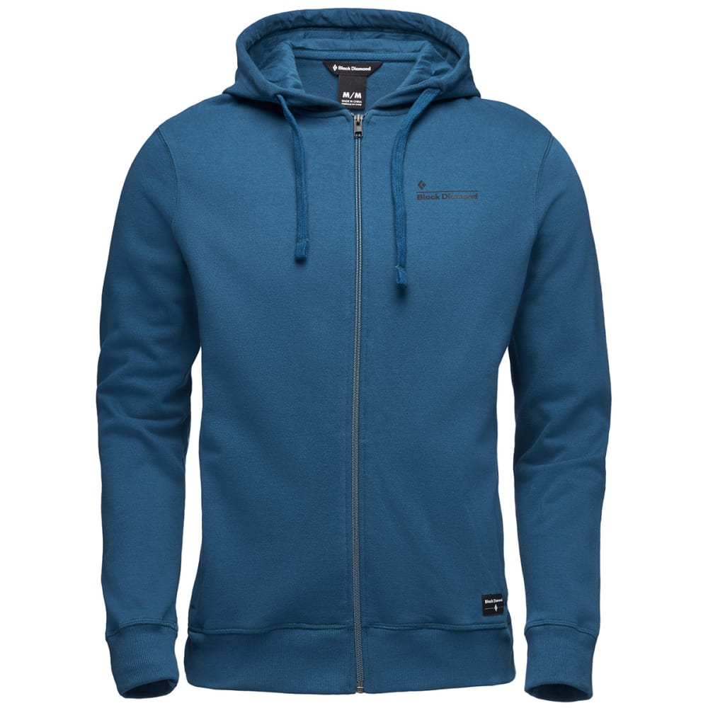 BLACK DIAMOND Men's Logo Hoodie - MIDNIGHT