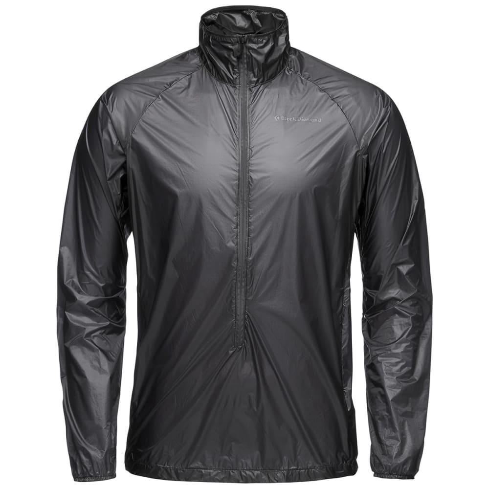 BLACK DIAMOND Men's Deploy Wind Shell Jacket - BLACK