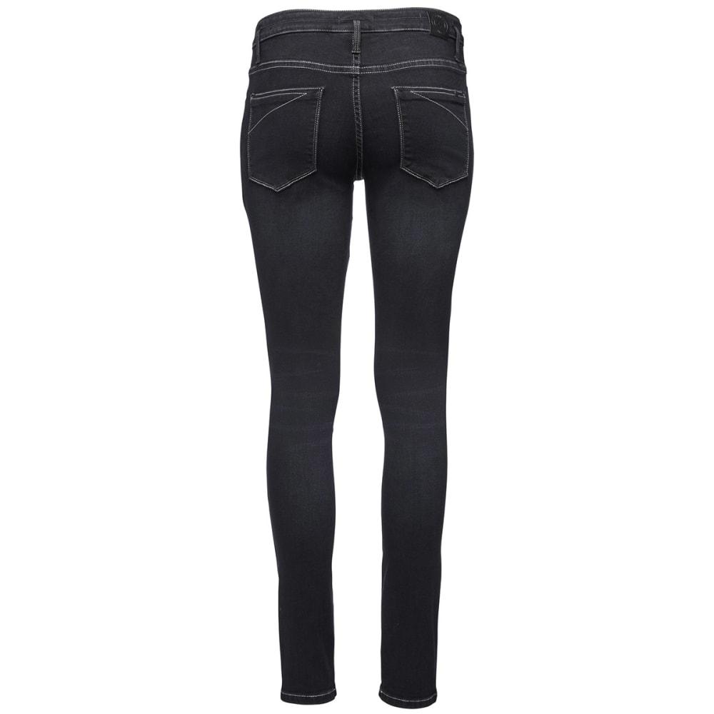 BLACK DIAMOND Women's Forged Denim Pants - BLACK