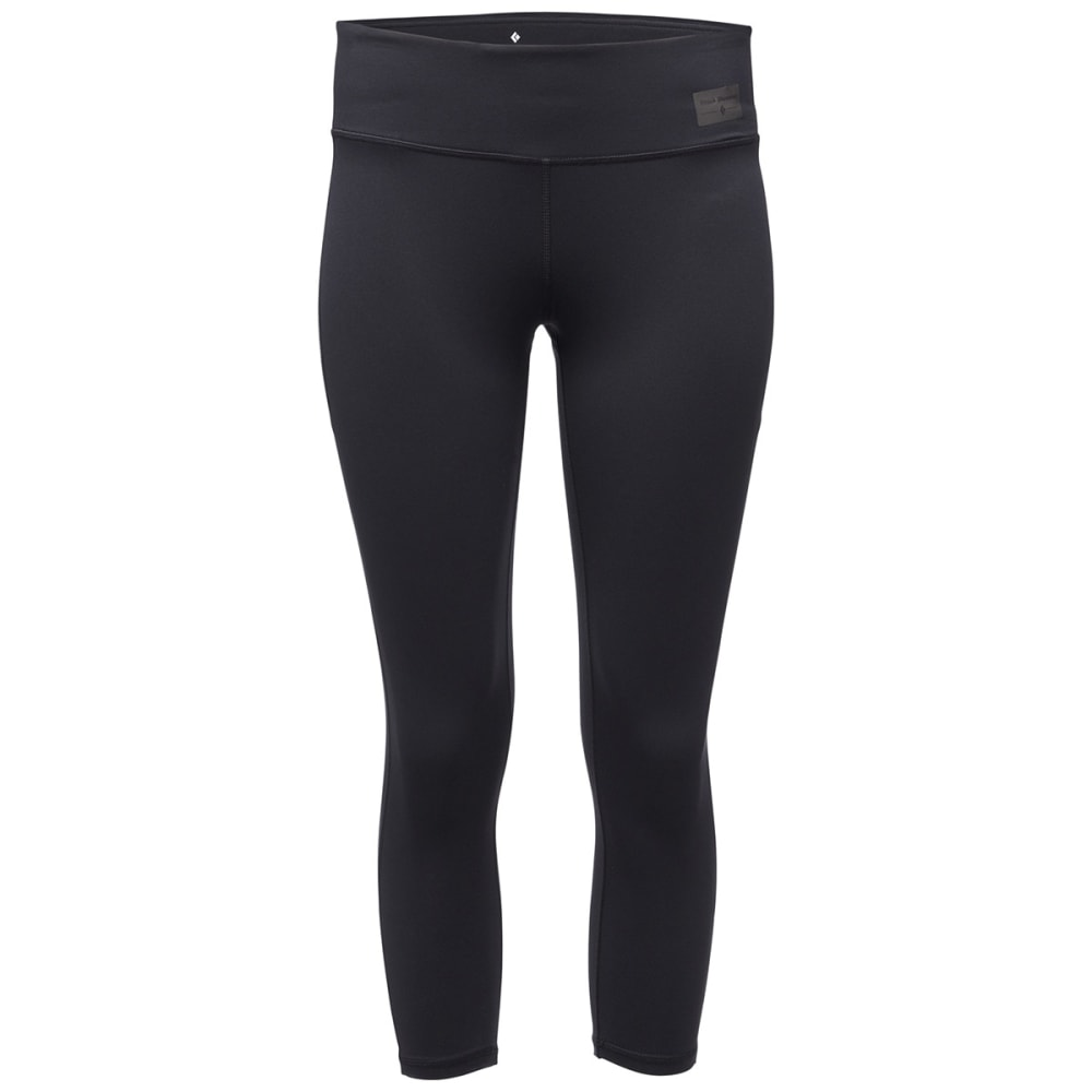 BLACK DIAMOND Women's Levitation Capri - BLACK
