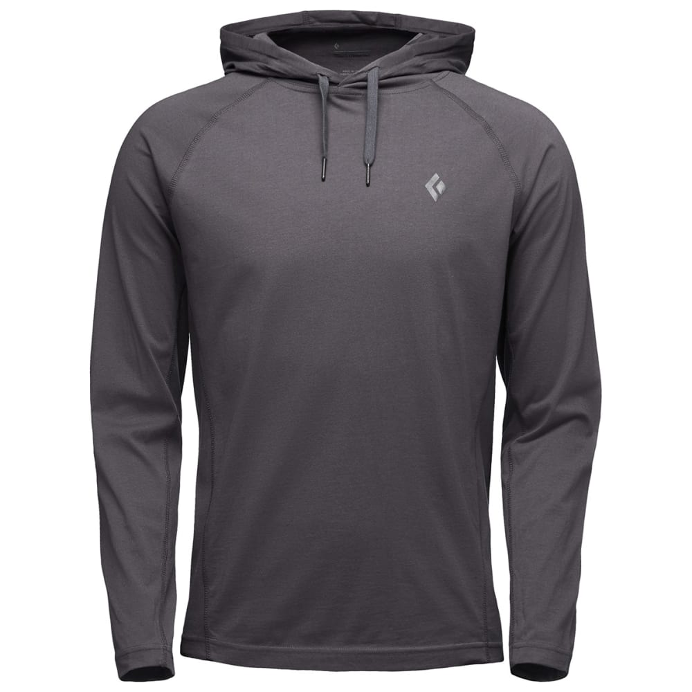 BLACK DIAMOND Men's Crag Hoodie - CARBON