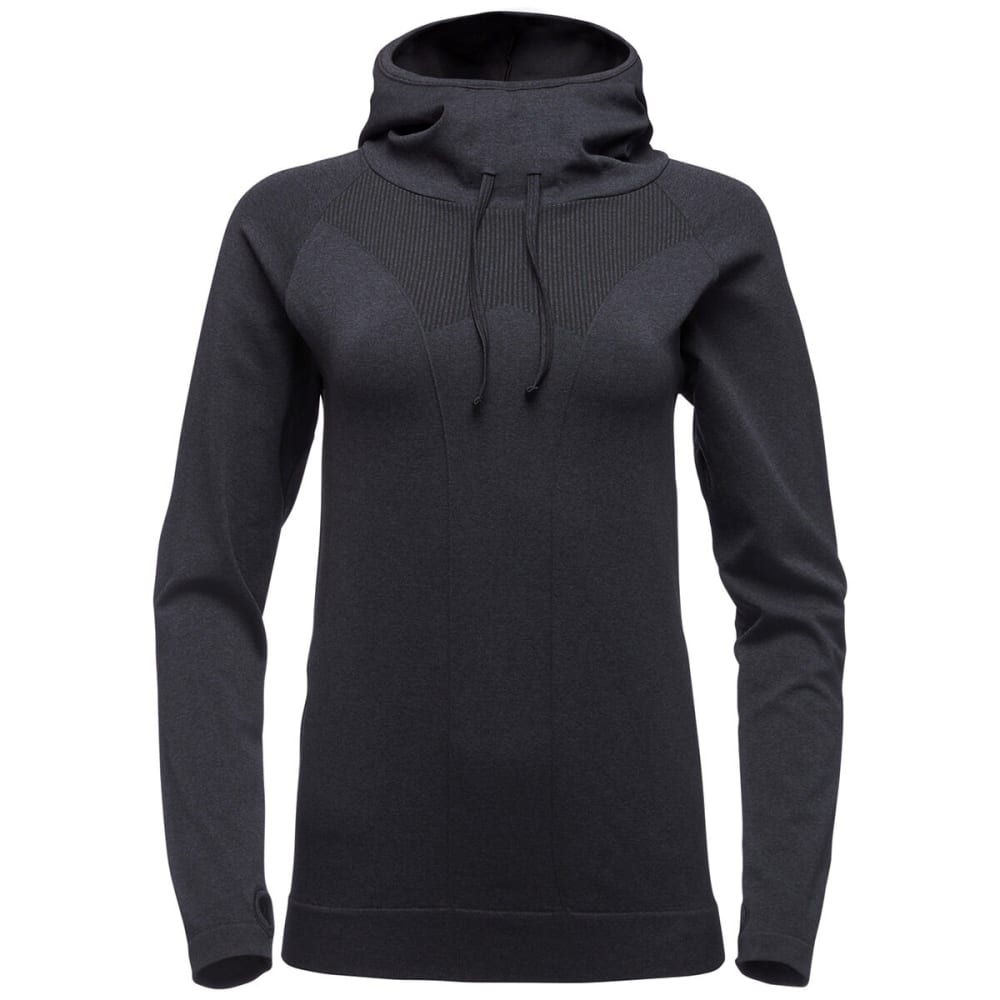 BLACK DIAMOND Women's Crux Hoodie - CARBON