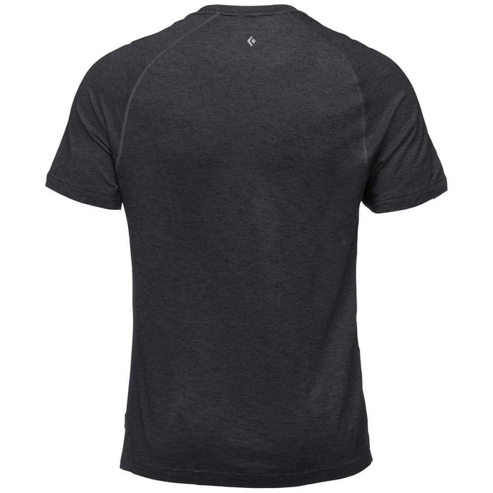 BLACK DIAMOND Men's Rhythm Short-Sleeve Tee - BLACK