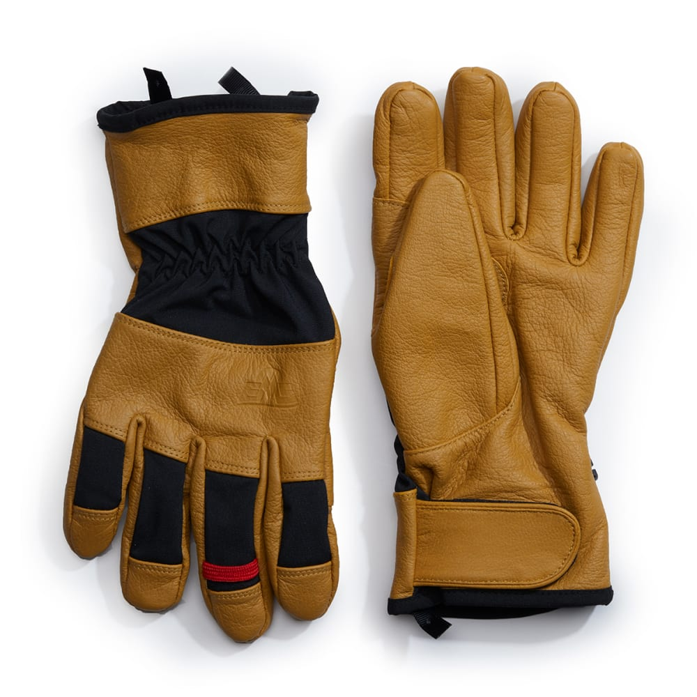 EMS Men's Leather Field Glove - GOLD