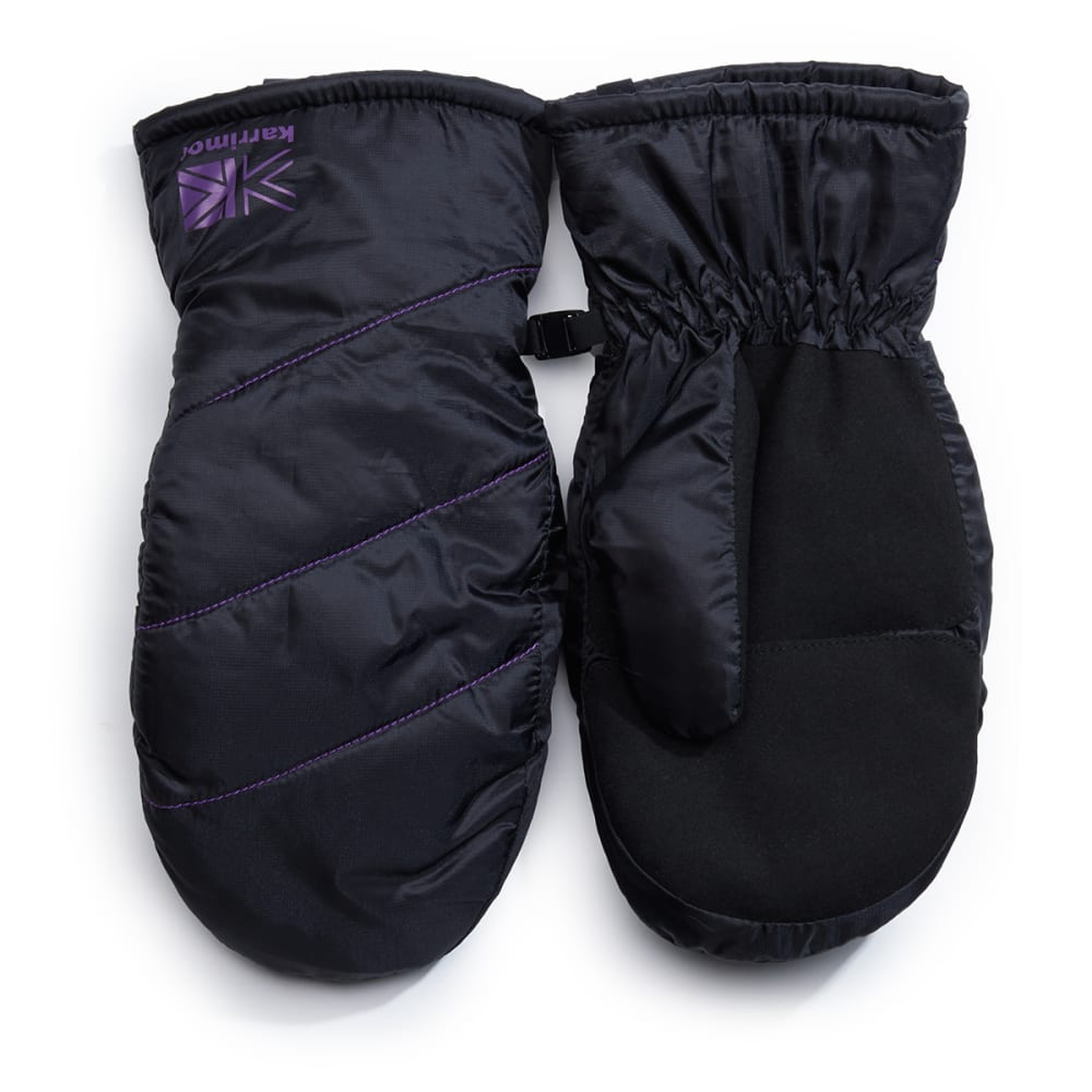 KARRIMOR Women's Peak Mittens - BLACK