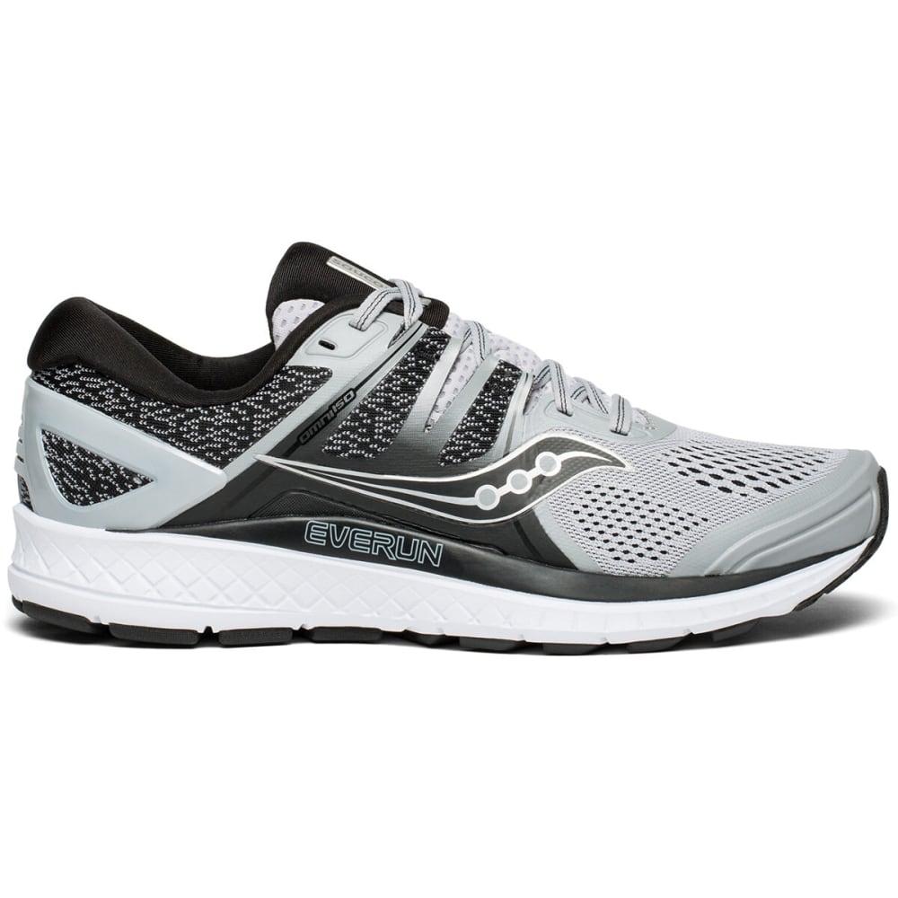 SAUCONY Men's Omni ISO Running Shoe, Wide - GREY