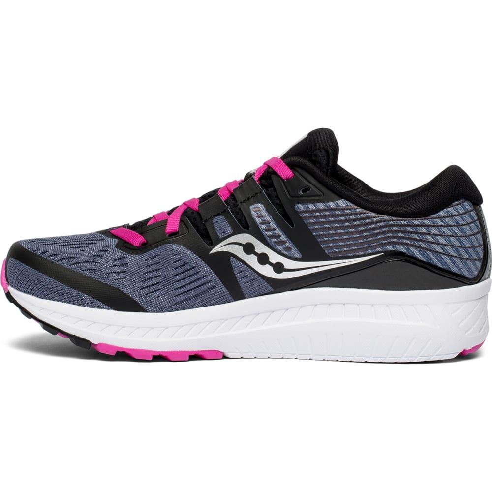 SAUCONY Women's Ride ISO Running Shoe - SLATE-S10444-4