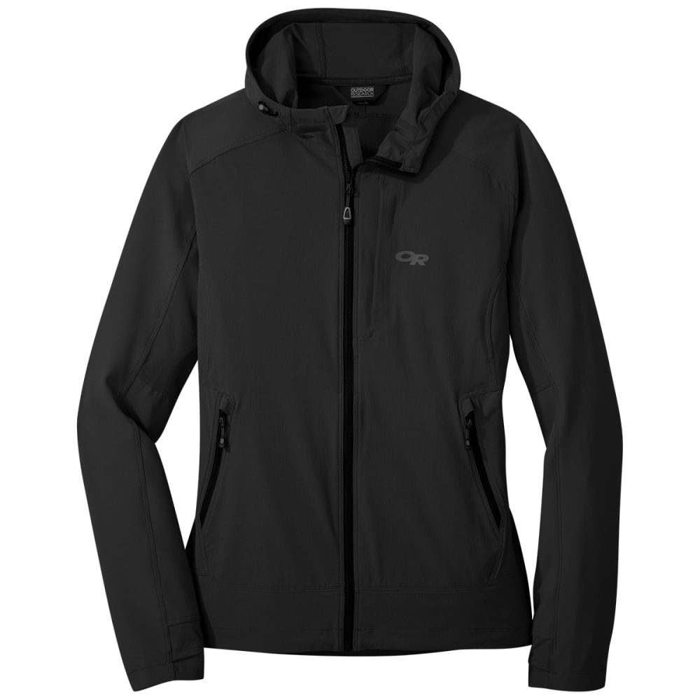 OUTDOOR RESEARCH Ferrosi Hooded Jacket - 0001 BLACK