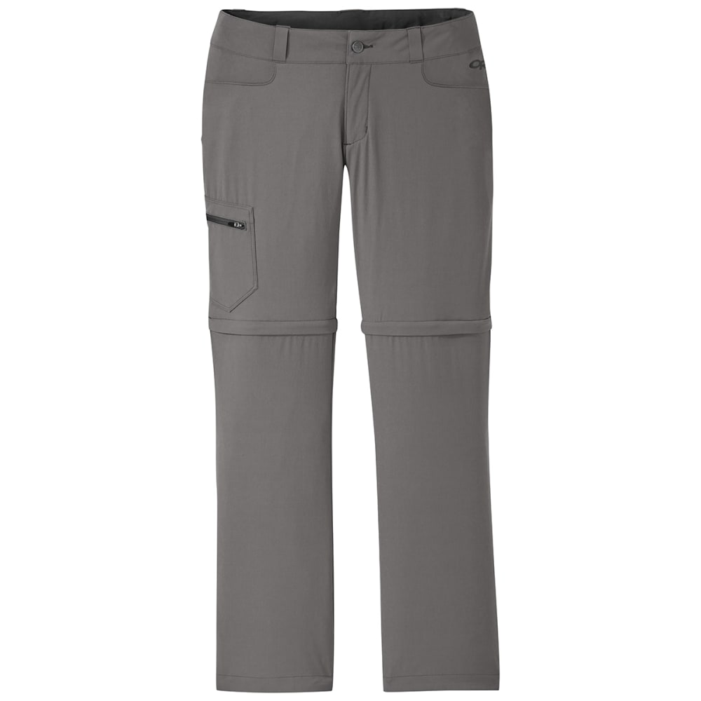 OUTDOOR RESEARCH Women's Convertible Pants - 0008 PEWTER