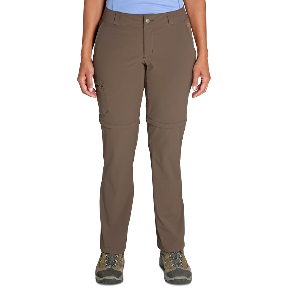 OUTDOOR RESEARCH Women's Convertible Pants - 0771 MUSHROOM