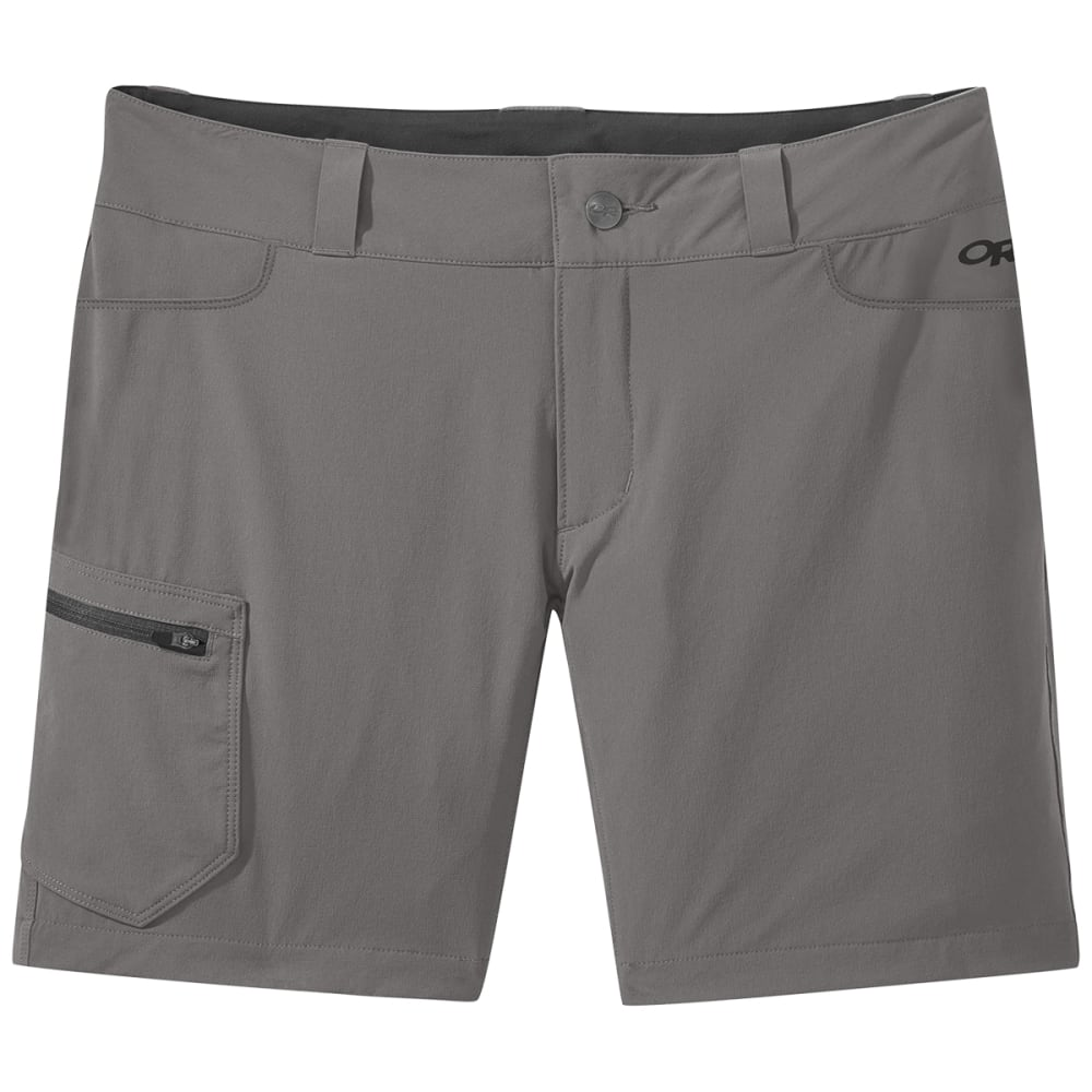 OUTDOOR RESEARCH Women's Ferrosi Shorts - 0008 PEWTER