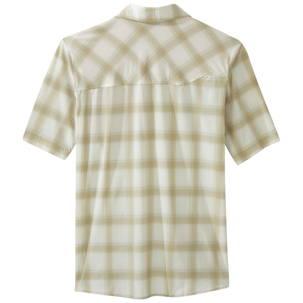 OUTDOOR RESEARCH Men's Astroman Short-Sleeve Sun Shirt - 1423 HAZELWOOD