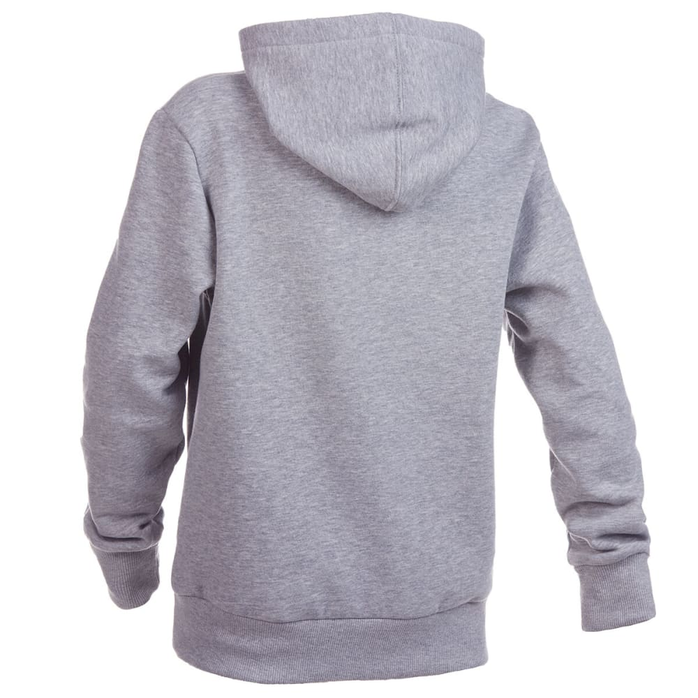 LEVI'S Boys' Fleece Batwing Pullover Hoodie - GREY HEATHER-306