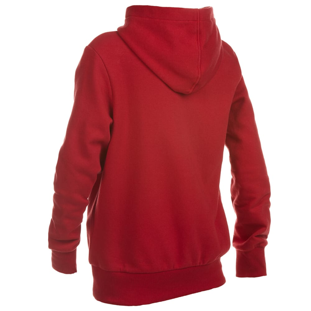 LEVI'S Boys' Fleece Batwing Pullover Hoodie - CHILI PEPPER-R2F