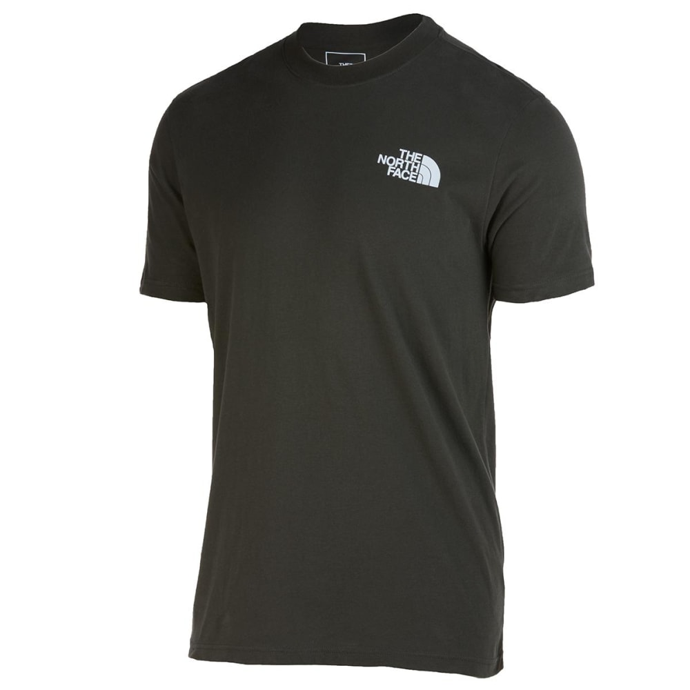 THE NORTH FACE Men's Short-Sleeve Box Tee - 21L NEW TAUPE GREEN
