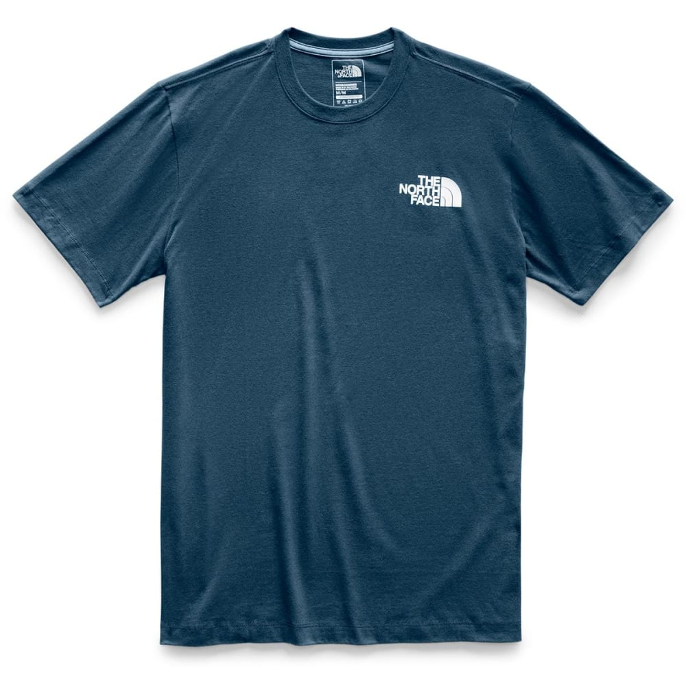 THE NORTH FACE Men's Short-Sleeve Box Tee - N4L BLUE WING TEAL