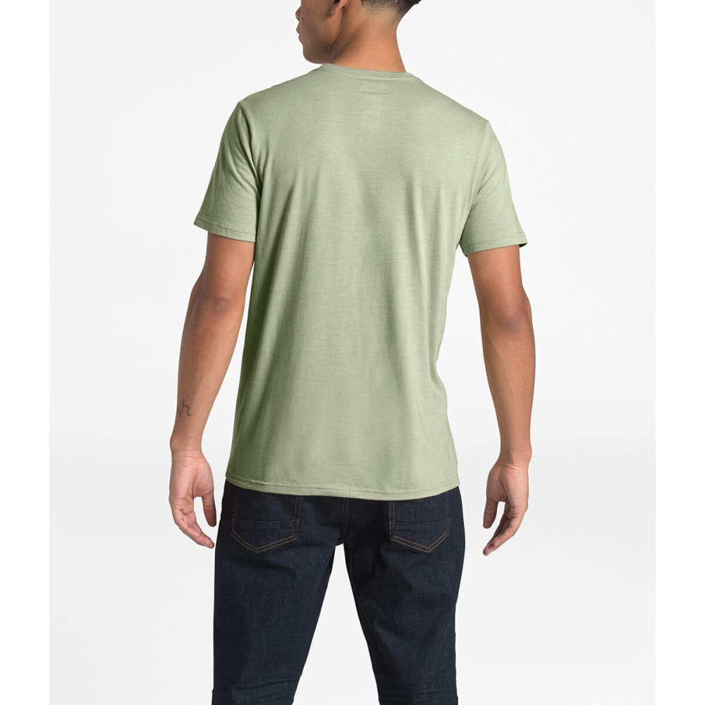 THE NORTH FACE Men's Desolation Short-Sleeve Tee - QBU GRANITE BUFF