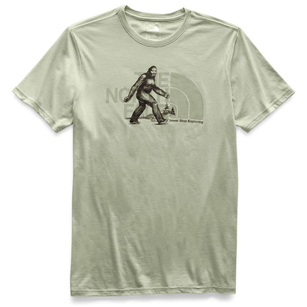 THE NORTH FACE Men's Desolation Short-Sleeve Tee - QBU GRANITE BUFF