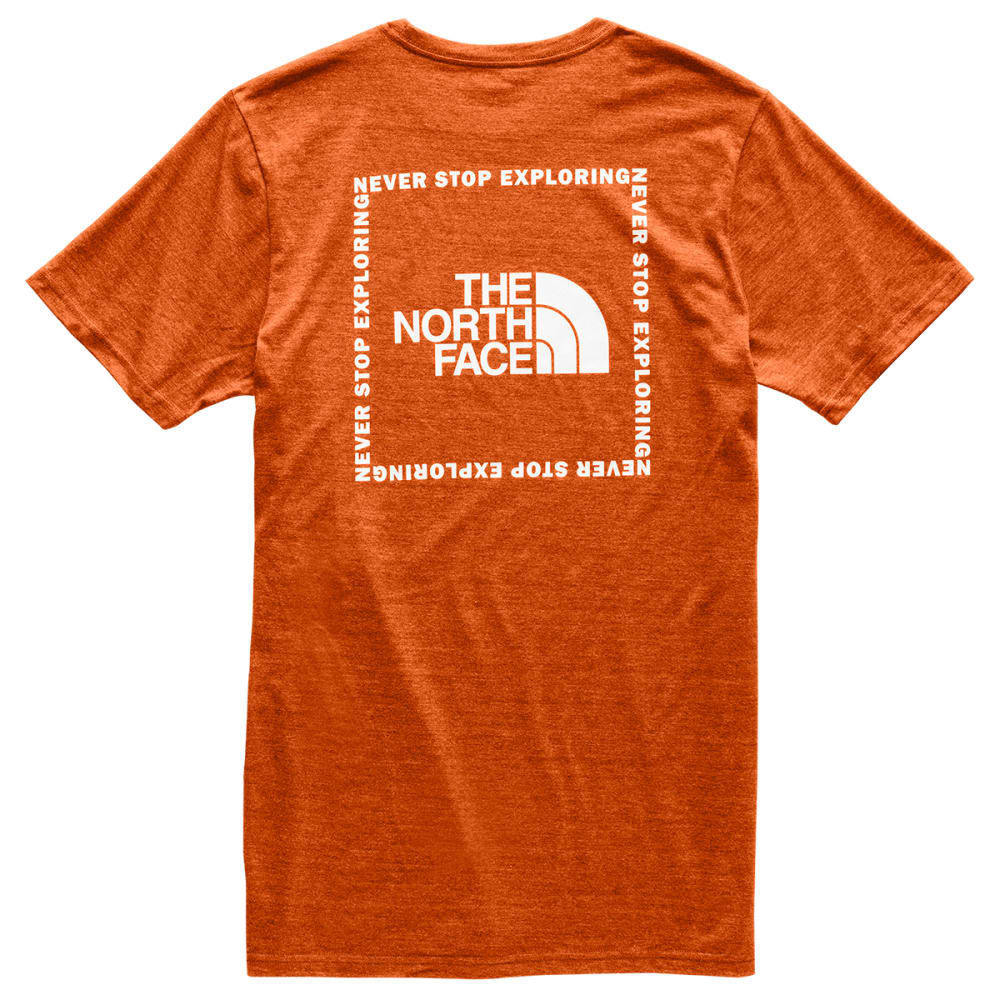 THE NORTH FACE Men's Short-Sleeve Archived Tri Blend Tee - EXW PAPAYA ORANGE HT