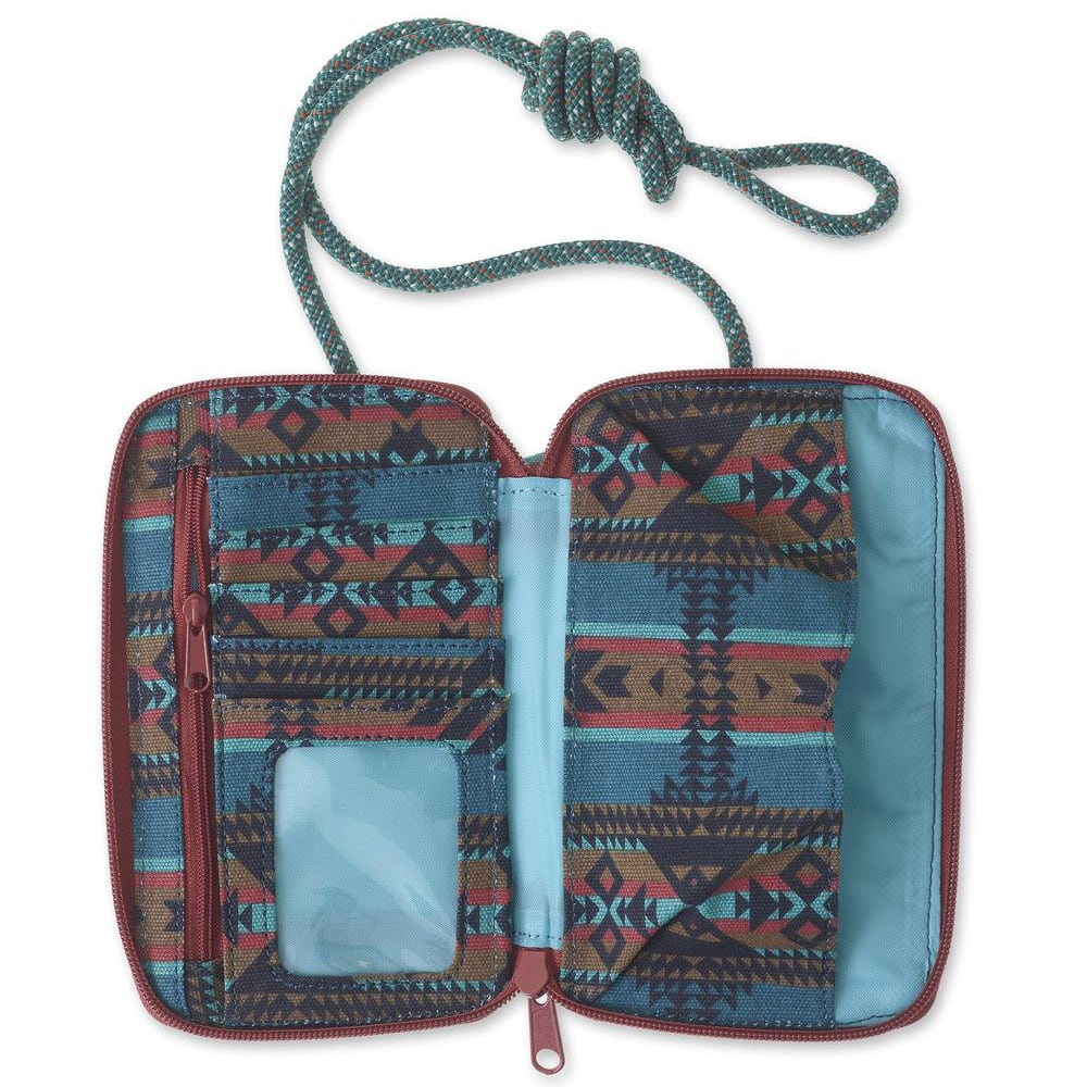 KAVU Women's Go Time Wallet - PACIFIC BLANKET