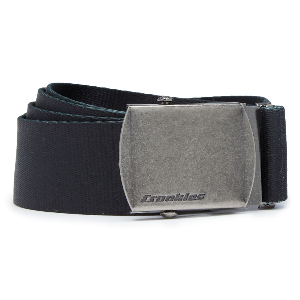 CROAKIES Men's Artisan 2 Military Buckle Belt - BLACK PET