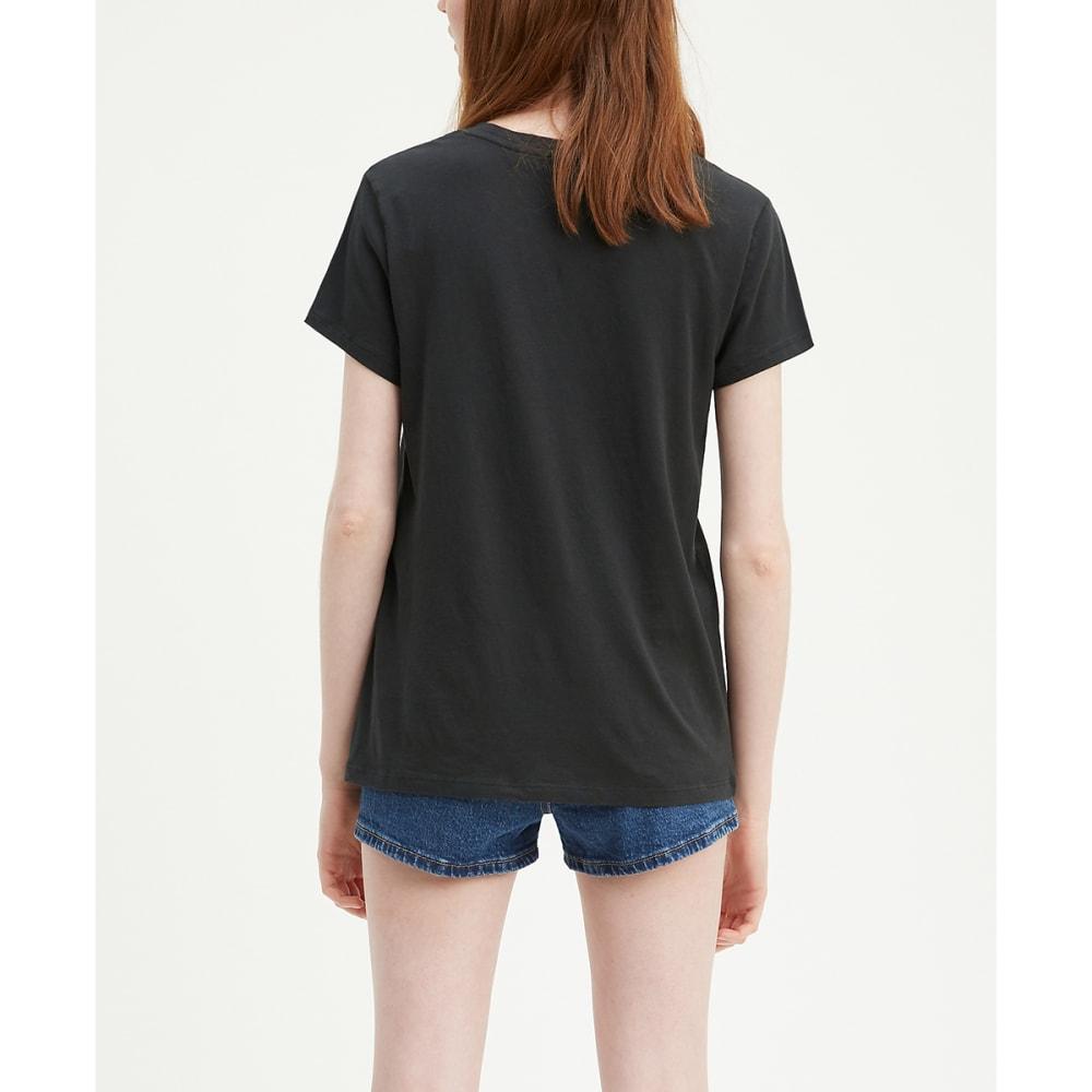 LEVI'S Women's Logo Perfect Short-Sleeve Tee - METORITE SEQUIN-0683