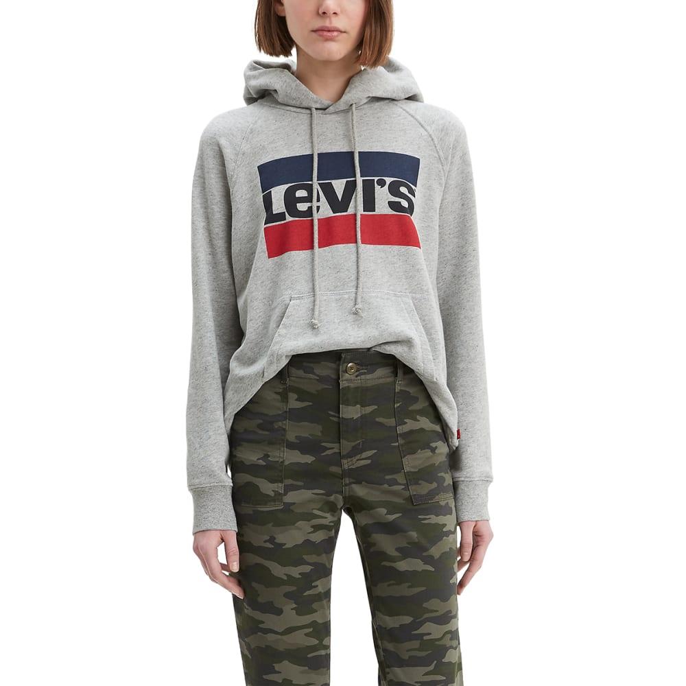 LEVIS Women's Graphic Fleece Sports Hoodie S