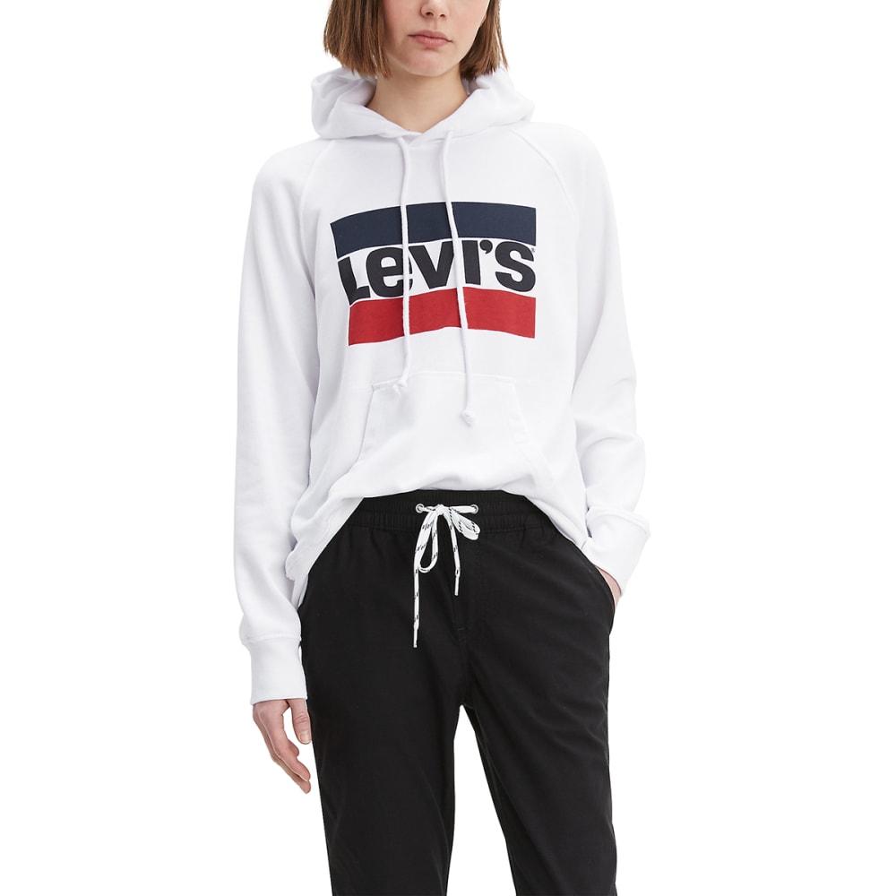 LEVIS Women's Graphic Fleece Sports Hoodie M