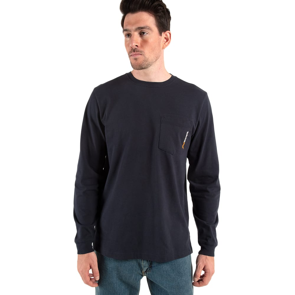 TIMBERLAND PRO Men's Base Plate Long-Sleeve Pocket Tee M