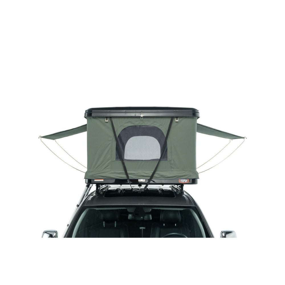 TEPUI HyBox Rooftop Tent And Cargo Box - BLACK